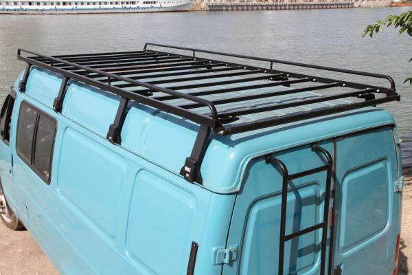 Багажник на крышу газель 2705 своими руками 61
